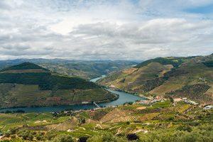 Vista incrível do Miradouro de Casal de Loivos, um dos nossos favoritos no Vale do Douro