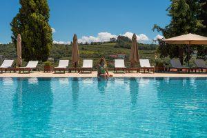 Piscina do Lamego Hotel & Life com vista para o belo Vale do Douro