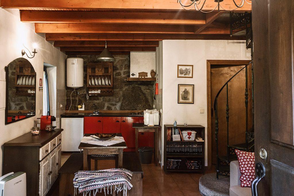 Área comum no apartamento