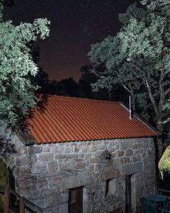 Noite estrelada nos Moinhos do Poço Verde